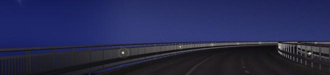 Tjörnbron kväll förarpersp